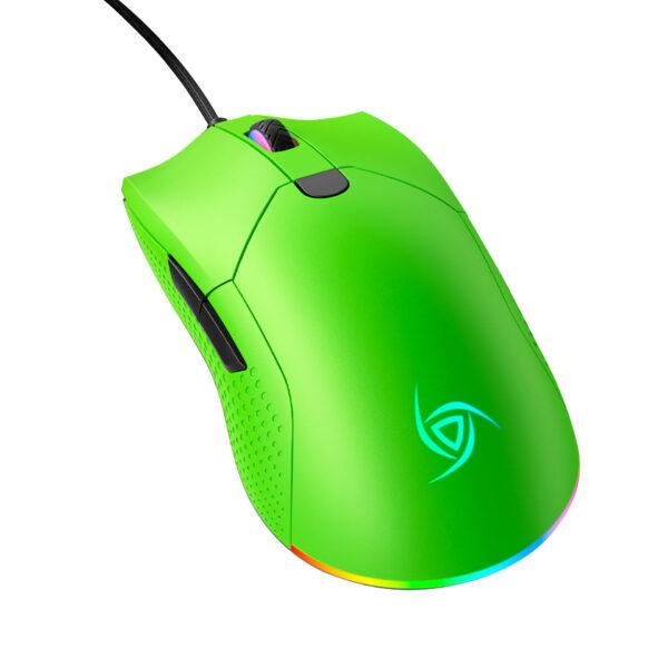 Mouse Gamer VSG Aurora ultraliviano VERDE BOREAL DIAGONAL