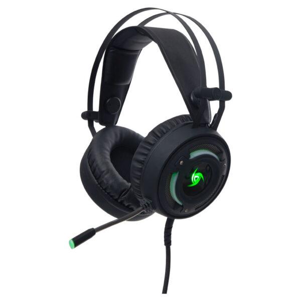 Audífono Gamer VSG Arkan Negro FRONTAL