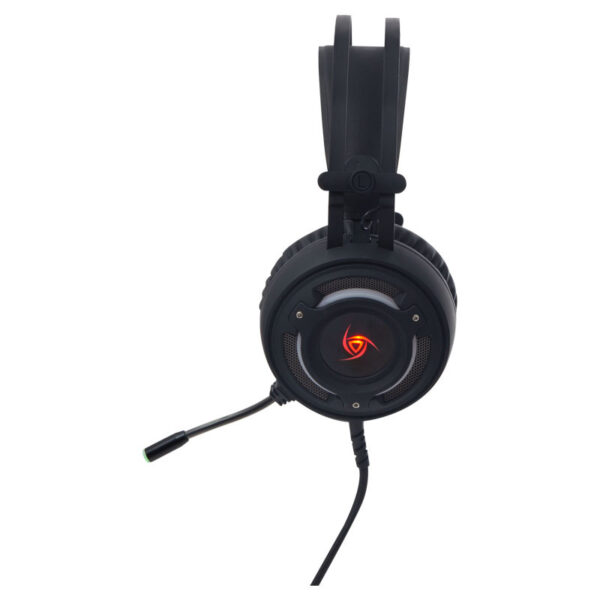 Audífono Gamer VSG Arkan Negro LATERAL