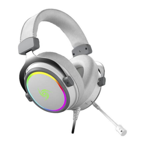 Audífonos Gamer VSG Singularity RGB BLANCO LATERAL
