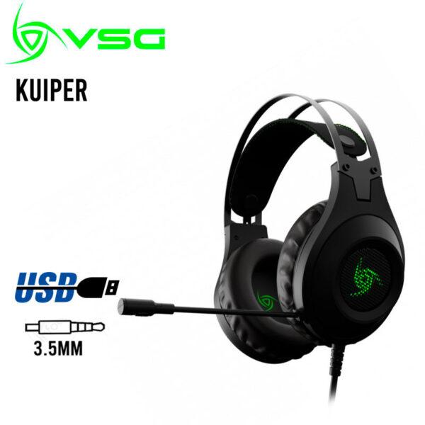 Audífonos Gamer Kuiper VSG – Multiplataforma PS4, Xbox, PC FRONTAL